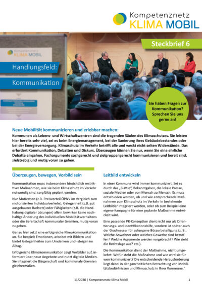 Steckbrief_06_Kommunikation_11_2020