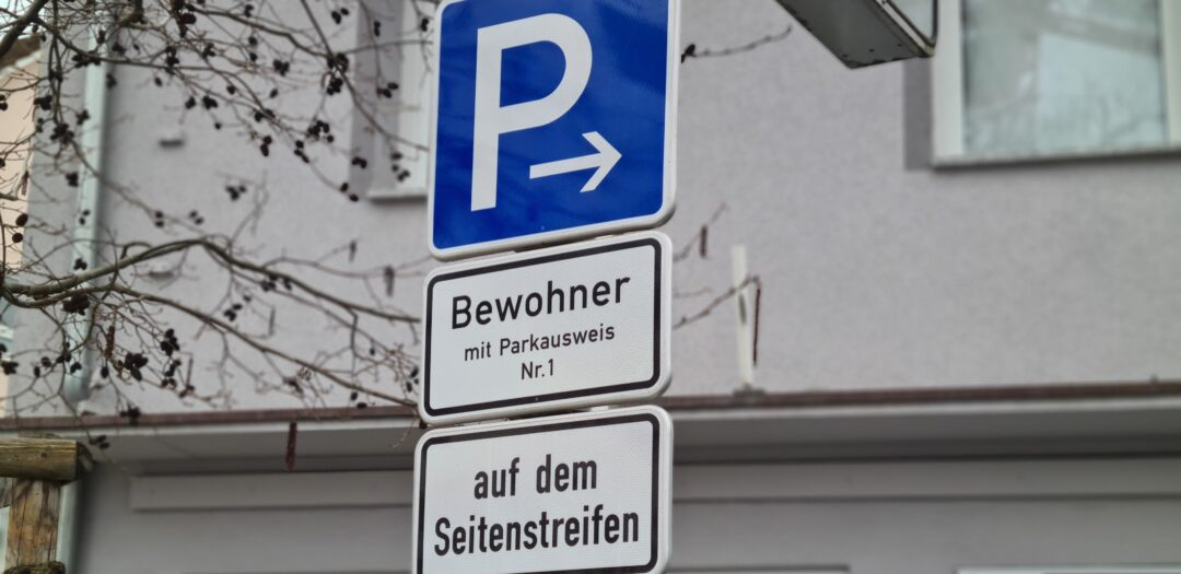 Kompetenznetz Klima Mobil Bewohnerparken, Bild: Adrian H. Messe